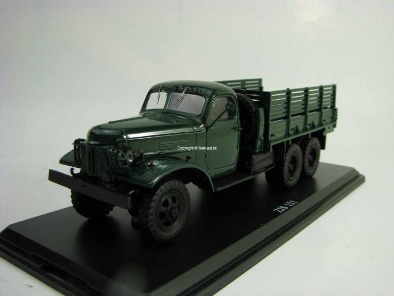 Zil 151 Truck Dark Green 1:43 Start Scale Models